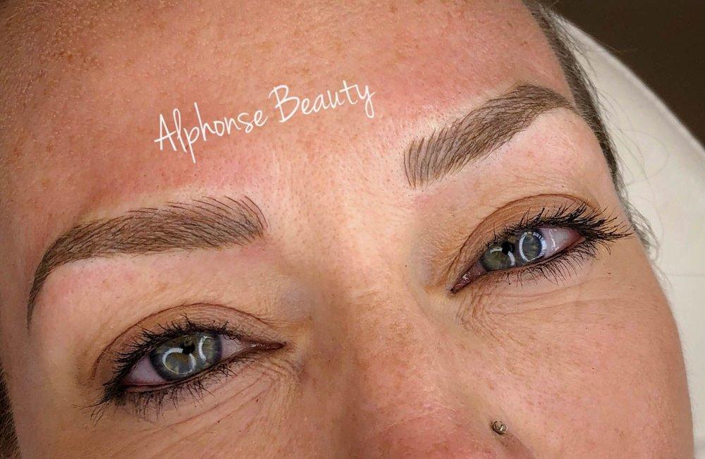Eyebrow Microblading Results Detroit Michigan