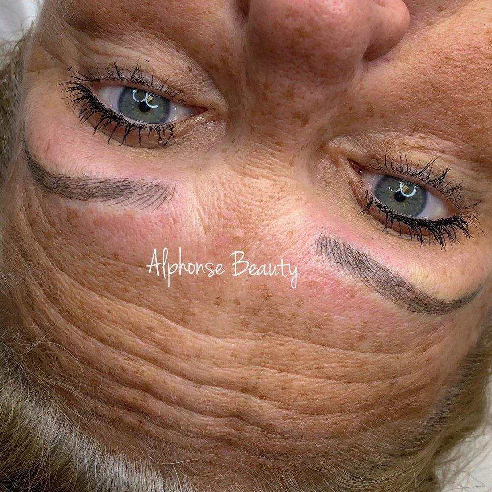 Eyebrow Permanent Makeup Results at Alphonse Beauty