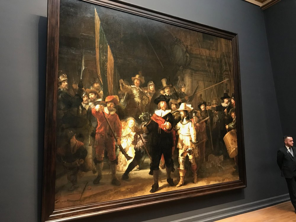 """The Night Watch"" by Rembrant"