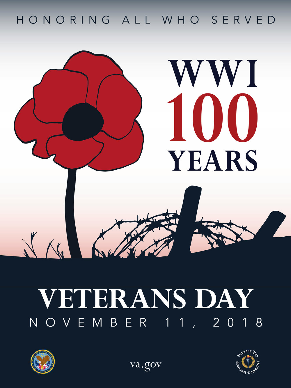 This year Veteran's Day coincides with the Armistice that ended The Great War.    Remember all who served.
