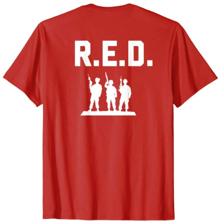 R.E.D. Friday - Remember Everyone Deployed
