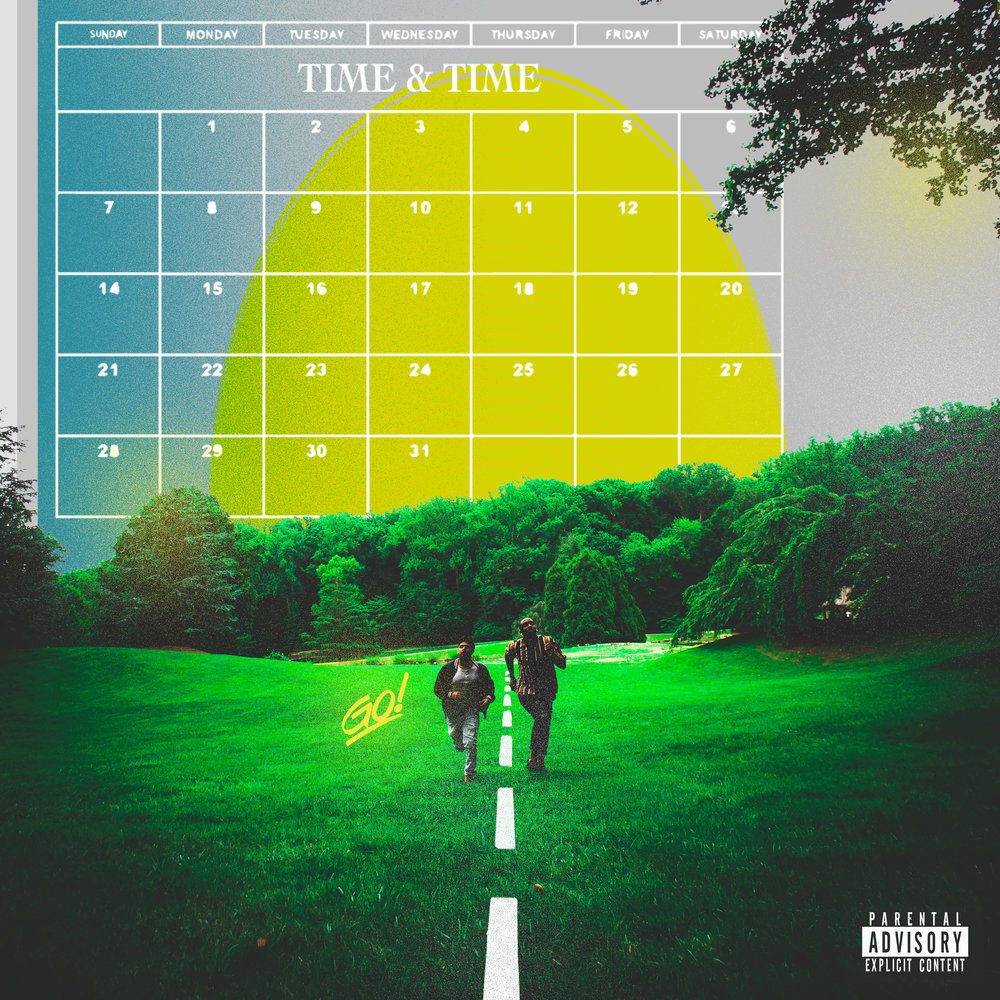 TIME & TIME - by KZMIBLZF.WRITTEN BY A. KAZMI & O. IGBO | PRODUCED BY  A. KAZMI | ADDITIONAL PRODUCTION BY O. IGBO | PUBLISHED BY KZMIBLZF. | RECORDED BY CARL RUSHING | MIXED BY CARL RUSHING| SAXOPHONE BY BEN LAURENSON | GUITAR BY AHMED KAZMI| BACKGROUND VOCALS BY AHMED KAZMI & OBI IGBO | PHOTOGRAPHY BY YUSUF KAZMI | ART DIRECTION AND GRAPHIC DESIGN BY OBI IGBO | ADDITIONAL DIRECTION BY AHMED KAZMI