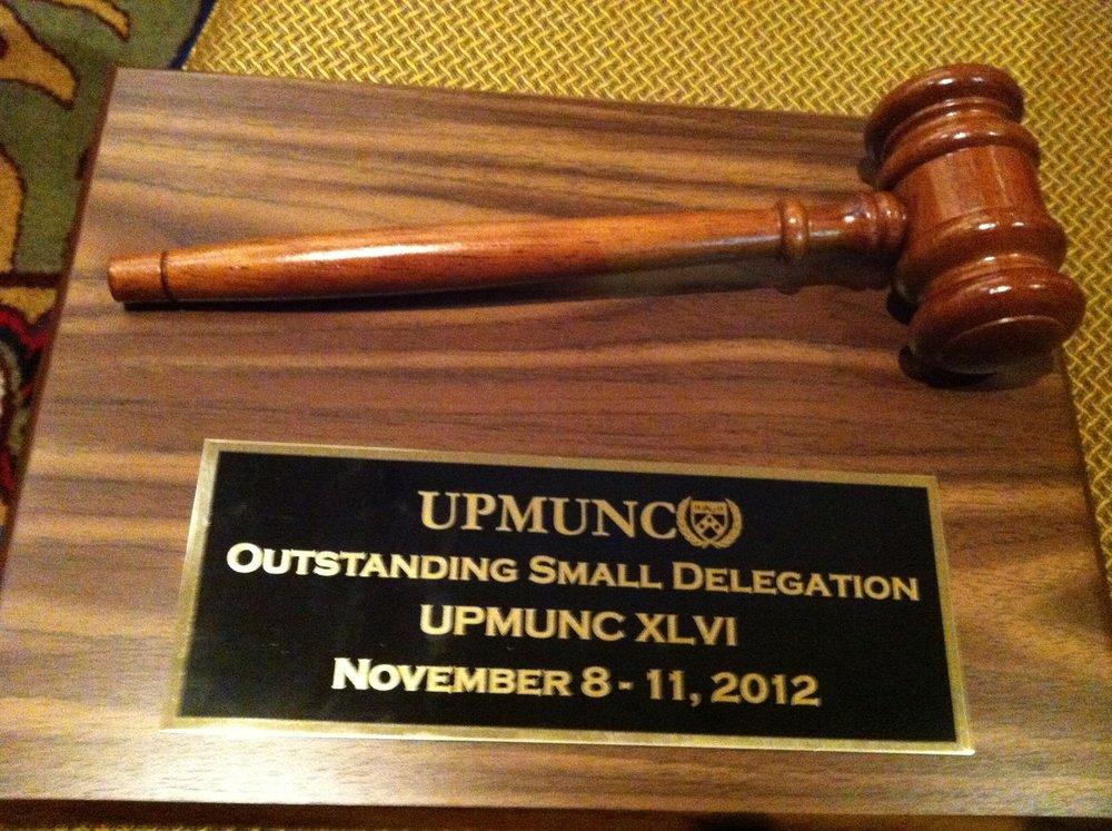 UPMUNC 2012