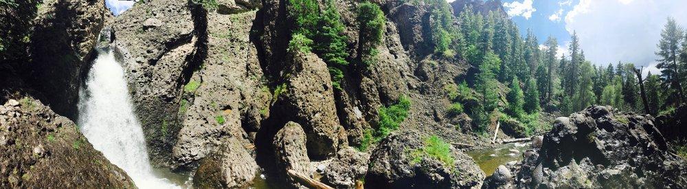 Piedra Falls, San Juan National Forrest