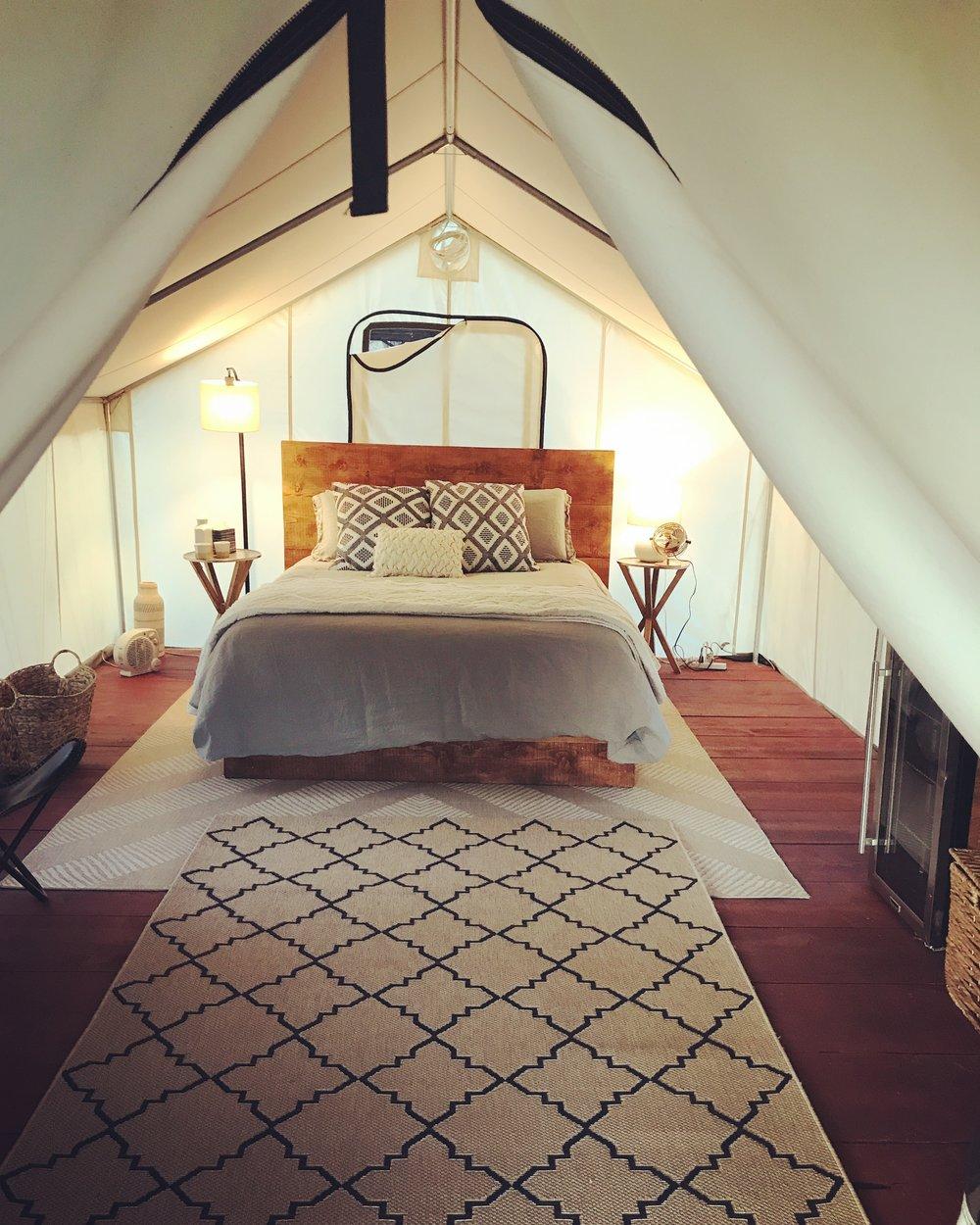 Montecito Glamping Tent, Ouray, Colorado