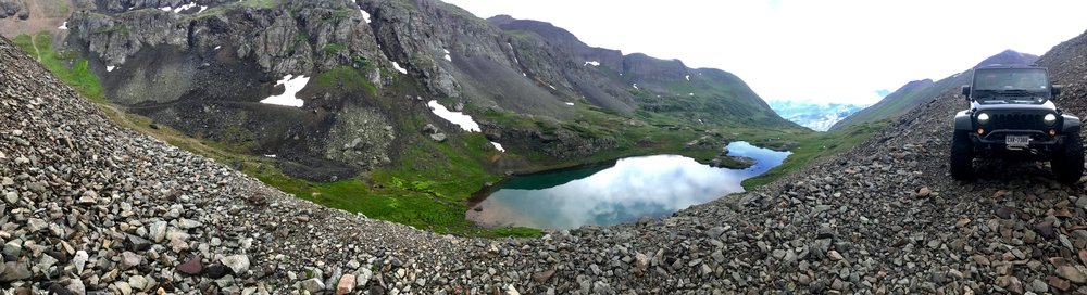 Ingram Lake, Black Bear Pass, Colorado