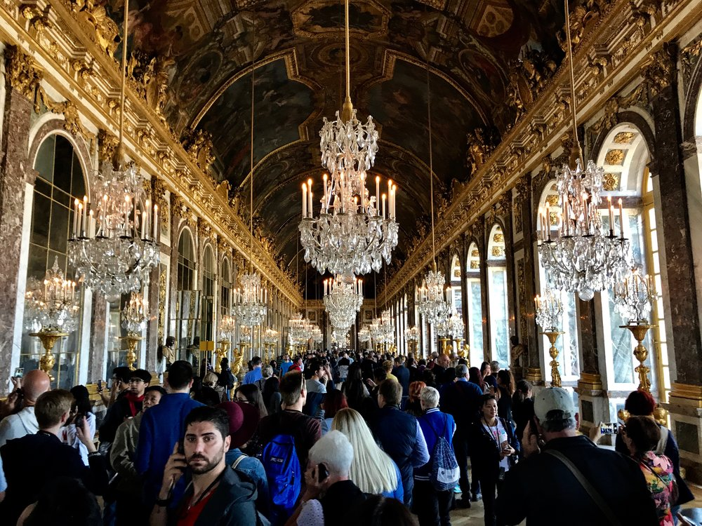 Hall of Mirrors -Palace of Versailles