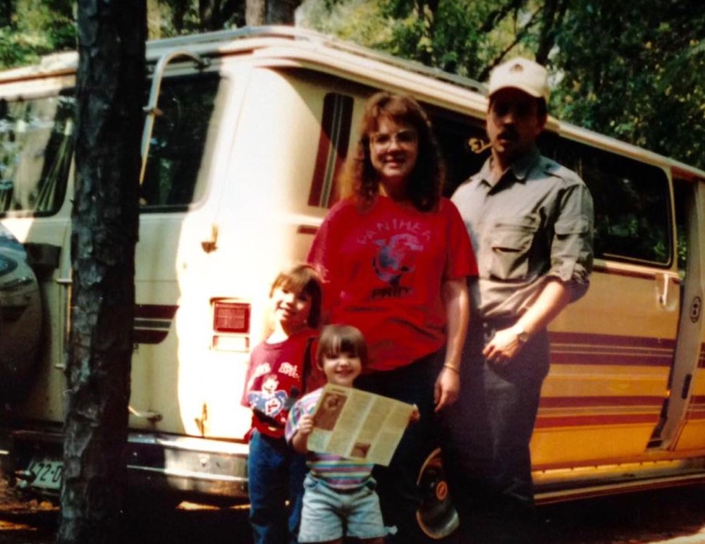 The DuPree Family in summer 1992.