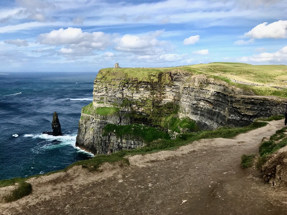 The Cliffs of Moher, Ireland.