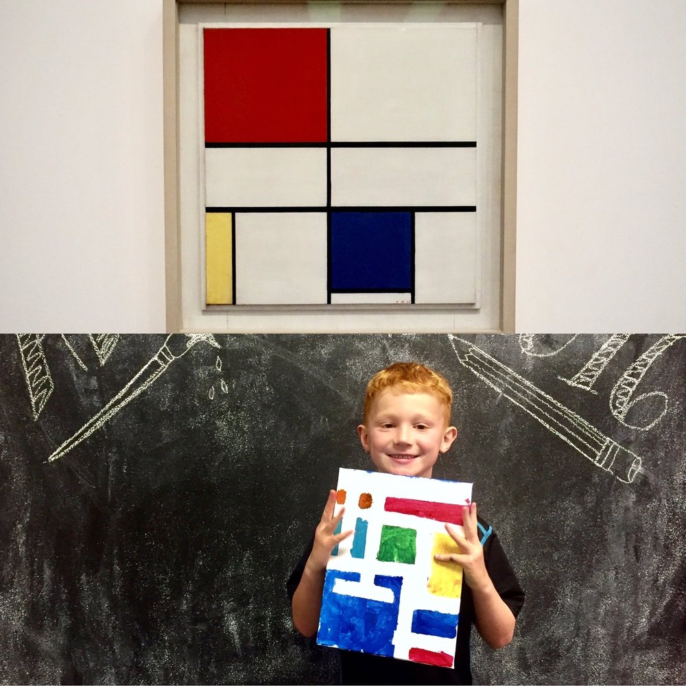 Piet Mondrian -Tate Modern Museum