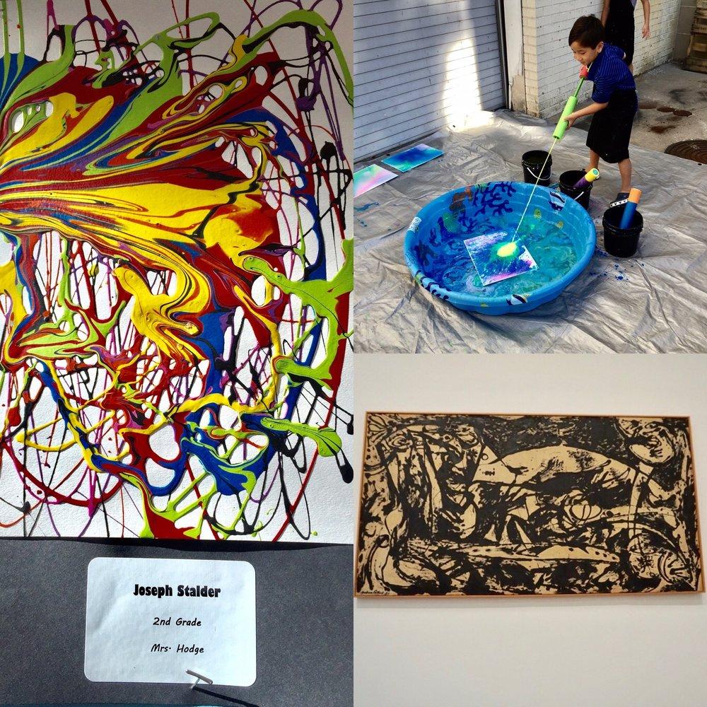 Jackson Pollock -Tate Modern Museum