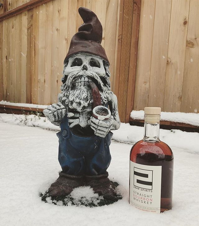 ❄️🥃❄️Due to #Snowmageddon we'll be closing at 4:00 today and closed tomorrow. Be safe and stay warm!❄️🥃❄️ _ #snowpocalypse #snowspirits #2barspirits