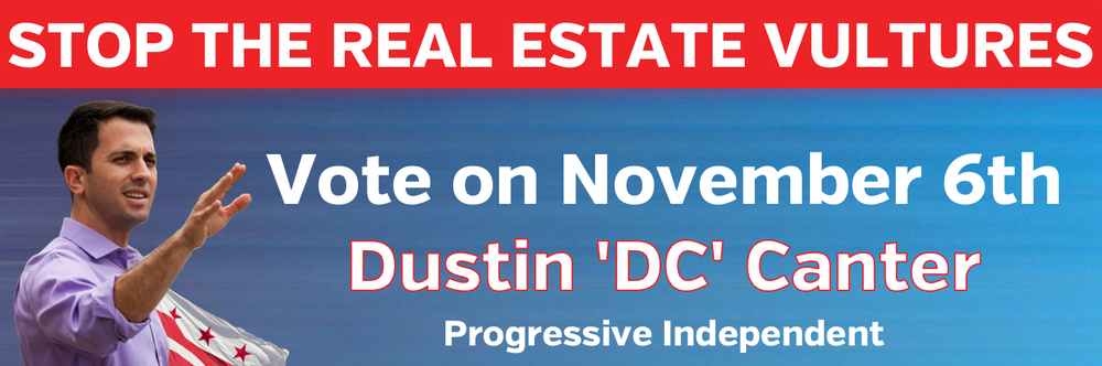 Banner-StopTheRealEstateVultures_VoteOnNovember6th