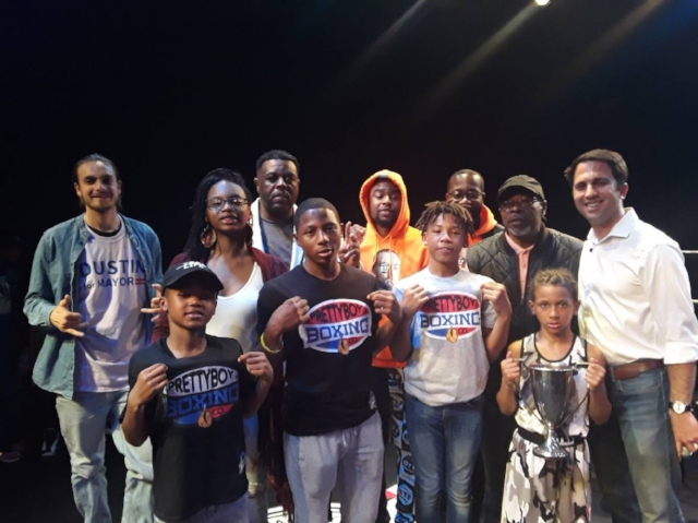 Entrepreneurship in the boxing ring