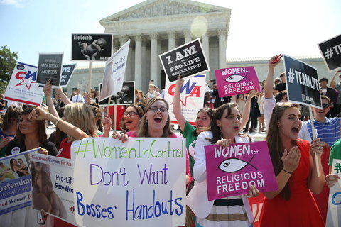 Supreme Court Rules 5-4 In Favor of Hobby Lobby -