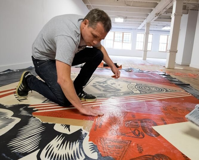 shepard fairey: printed matters - May 2016 - June 2016
