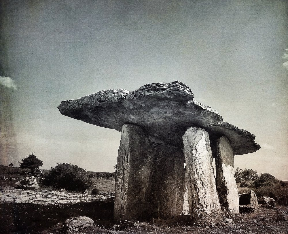 Dolmen, The Burren, Ireland