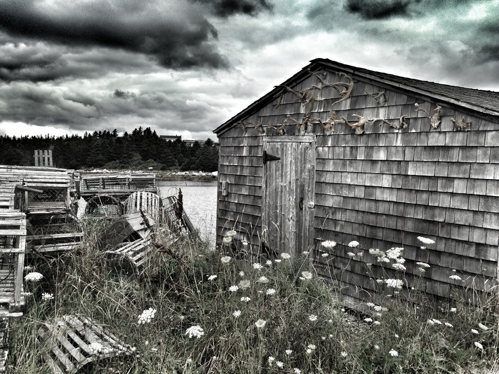 Fishing Shack, Nova Scotia, Canada