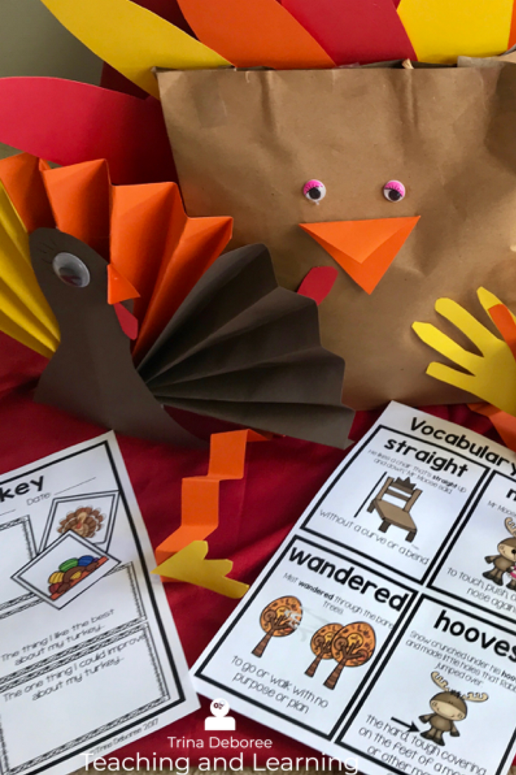 Makerspace Moments in Literature: Thanksgiving {Turkey for Thanksgiving}