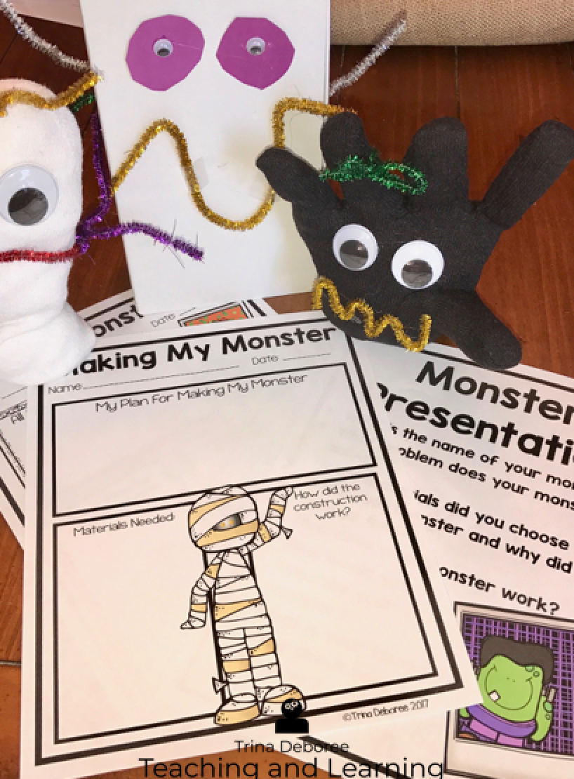 MakerSpace Moments in Literature Monsters