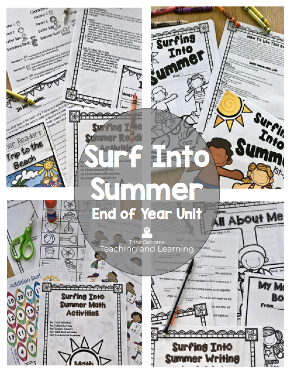 Surf Into Summer: End of Year Unit