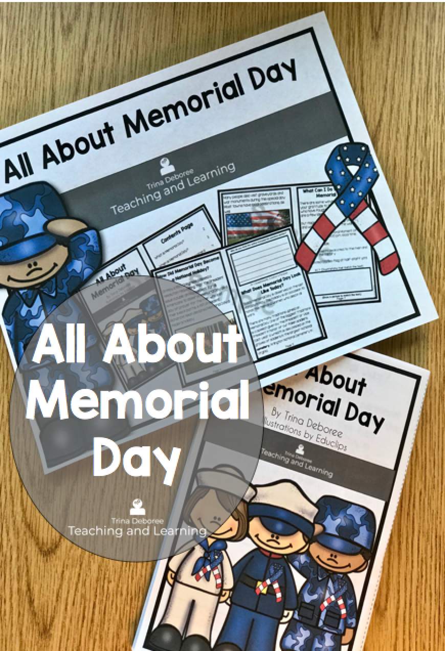 All About Memorial Day Nonfiction Reader