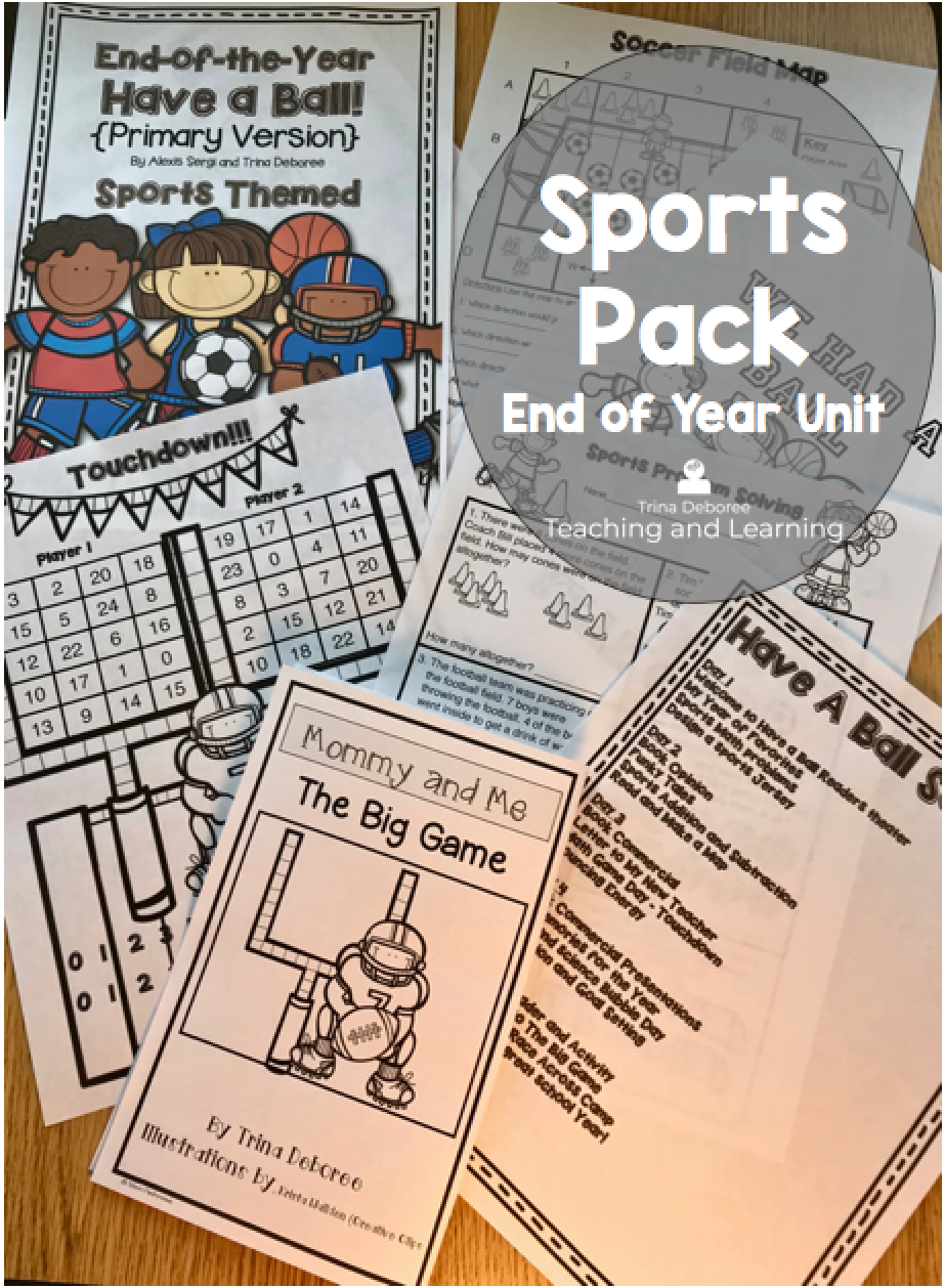 End of the Year Sports Pack