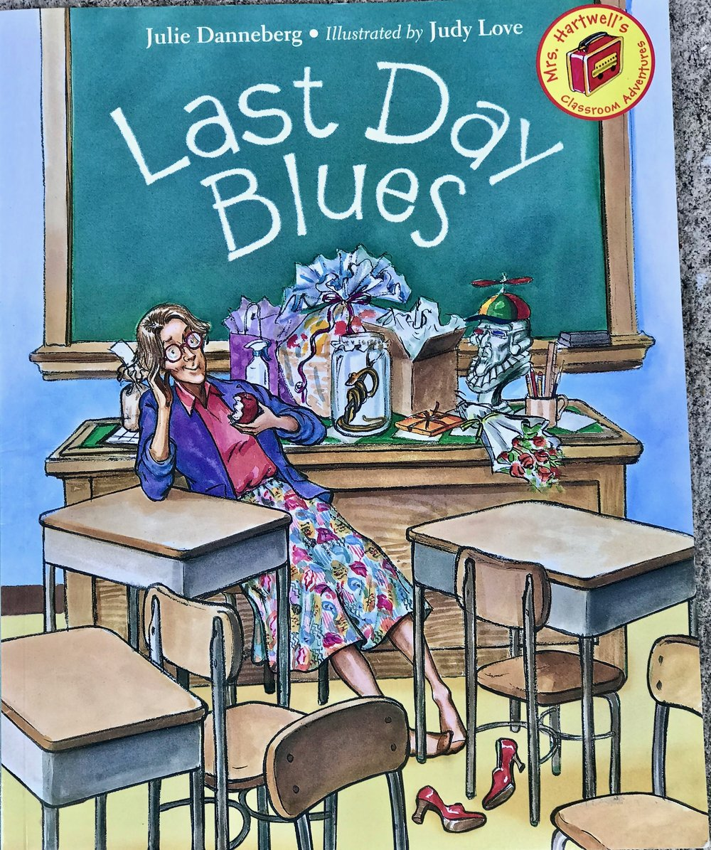 Ending the Year With a MakerSpace Moment In Literature Last Day Blues Book