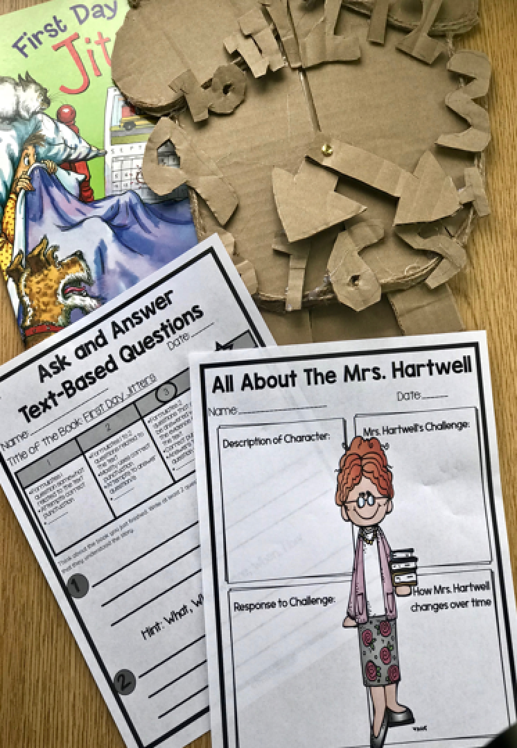 Back-to-School Makerspace is a fun way to introduce your Makerspace/STEM lab to your students in the first week of school. #backtoschoolactivities #backtoschoolmakerspace #backtoschoolprintable #backtoschoolproject #makerspace #teachers #homeschool #makerspacemomentsinliterature