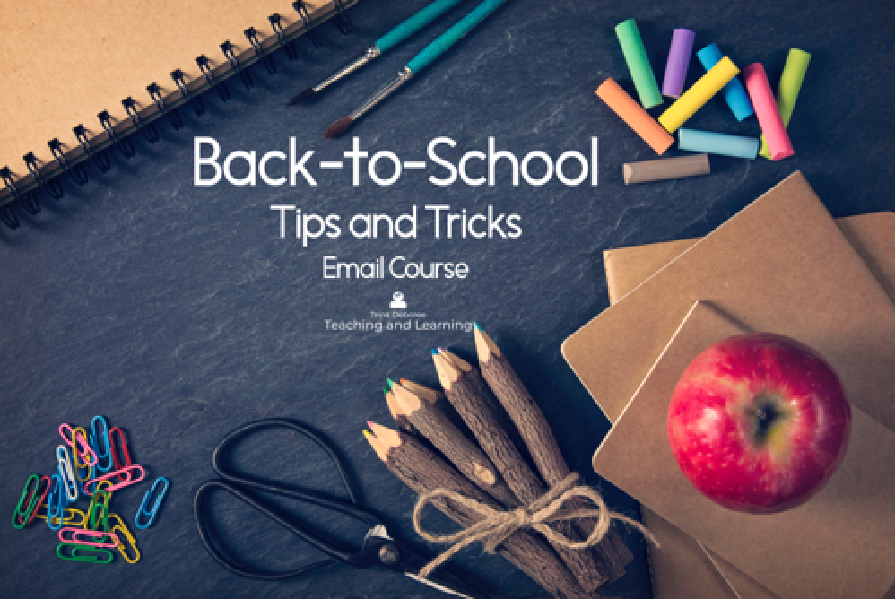 Back-to-School Tips and Tricks Email Course