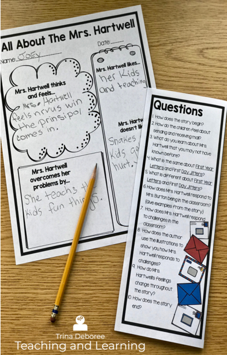 Back-to-School Makerspace {First Year Letters} Build on main character knowledge with this cute story. Then create, build, design a makerspace activity. #makerspace #makerspacemomentinliterature #backtoschoolactivity #backtoschoolmakerspace #STEMandliteracy #teachers