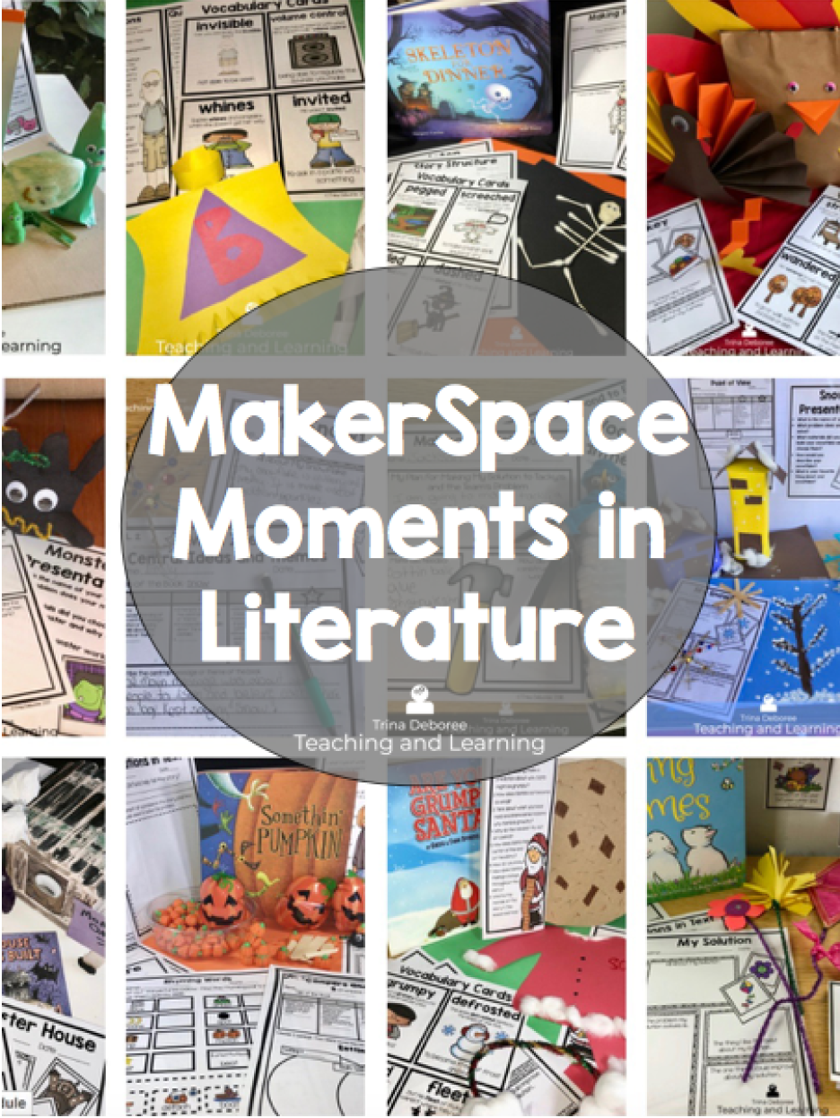 MakerSpace Moments In Literature All Year Bundle
