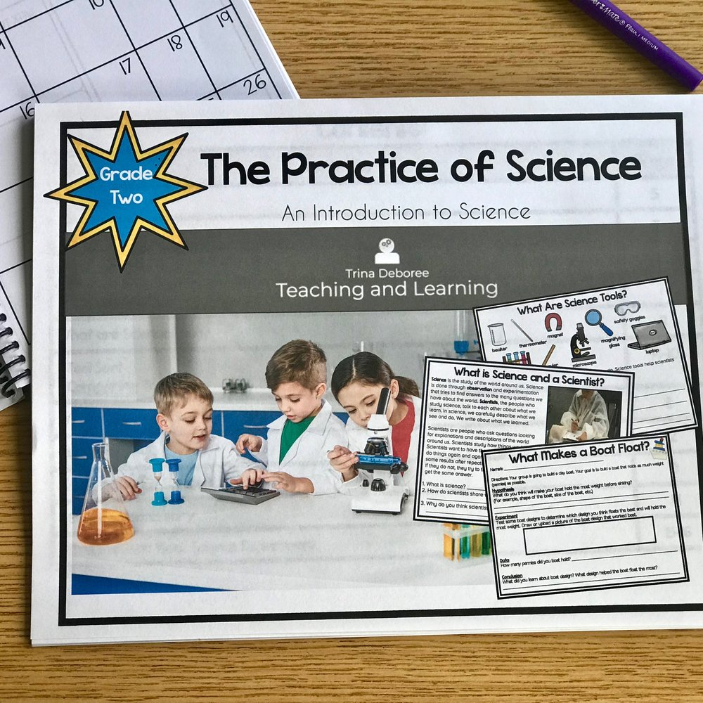 The Practice of Science FREEBIE