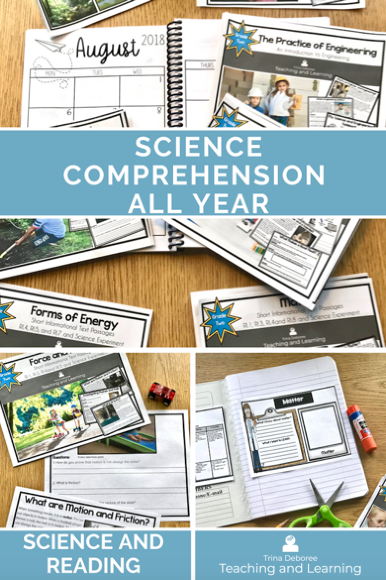 Science reading passages for 2nd grade provides close reading in science for the ENTIRE YEAR! Short on time? #sciencepassages #sciencereading2ndgrade #sciencereadaingpassagescomprehension