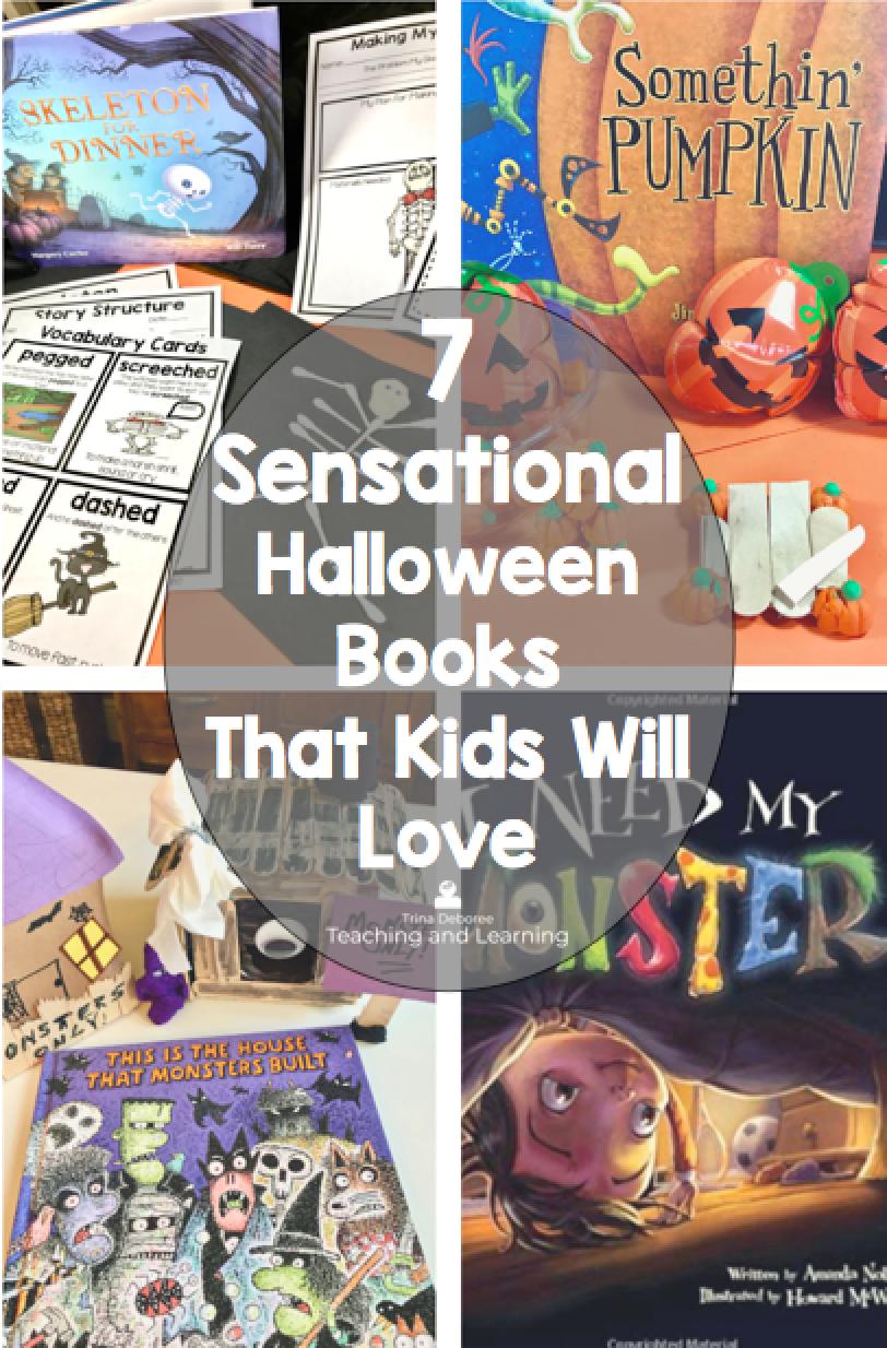 7 Sensational Halloween Books Every Kid Will Love #halloweenbooks #hallooweenactivities