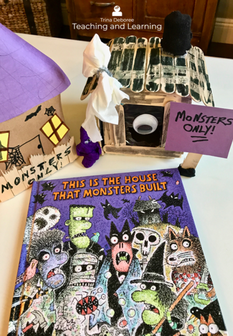 Fun Halloween books for kids. This story makes for a great makerspace/ STEM extension. #halloweenactivities #halloweenbooks #makerspace #halloweenmakerspace