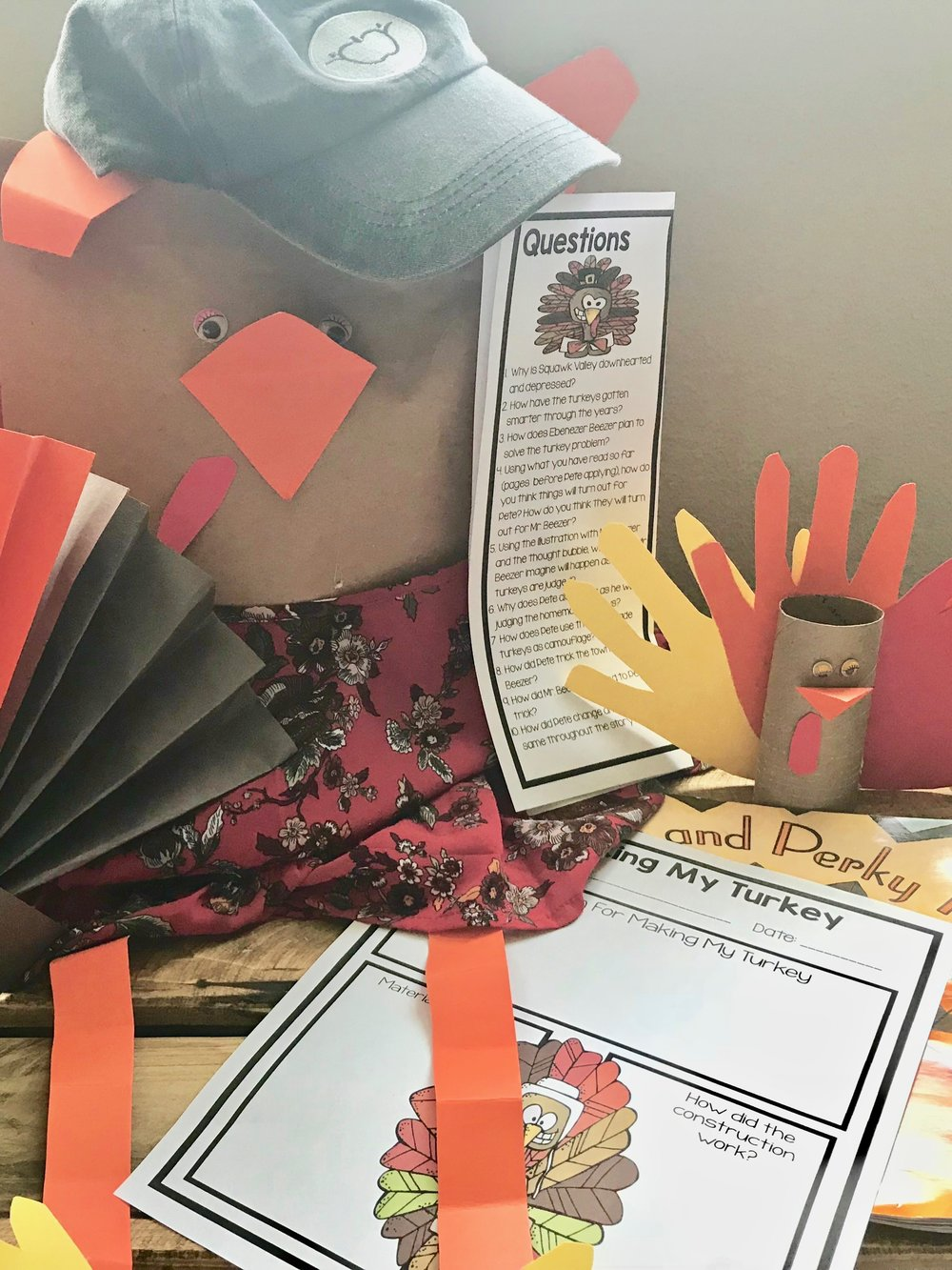 Thanksgiving Makerspace: The Perky Turkey #thanksgivingcrafts