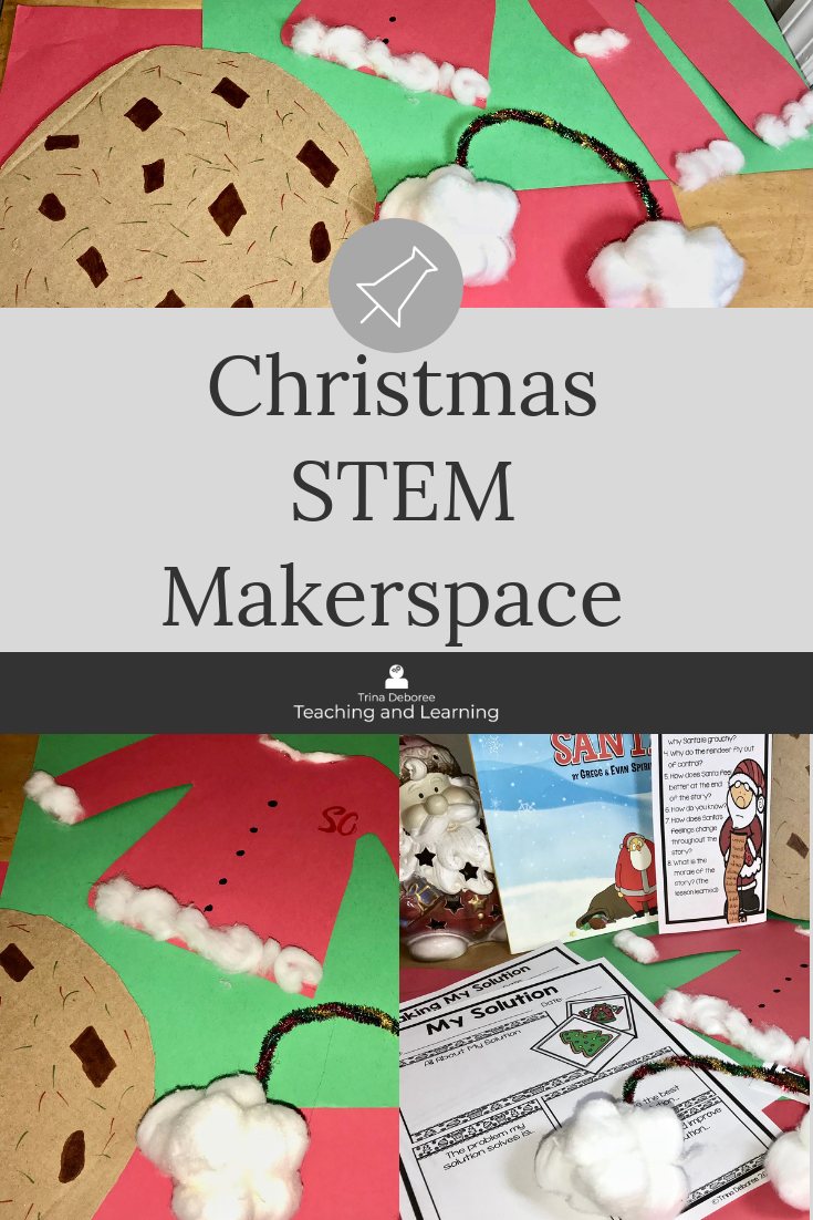 Are You Grumpy Santa Makerspace/STEM #christmasactivities #christmasmakerspace