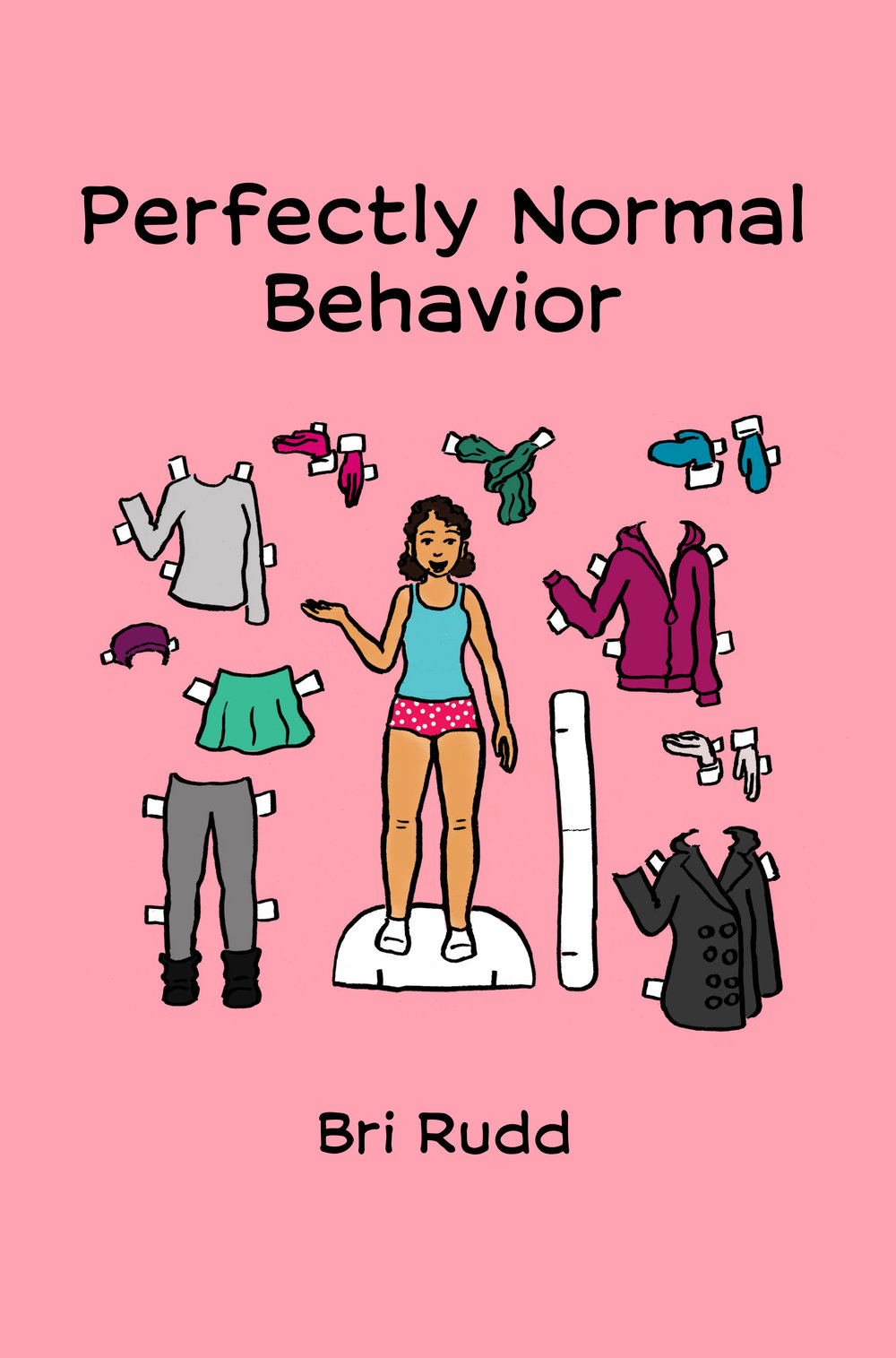 Pefectly Normal Behavior - by Bri RuddPerfectly Normal Behavior is a comic collection about snacks, anxiety, snack anxiety, and how living alone can make you get all weird. Also, there's a pie recipe.2017, 48 pgs