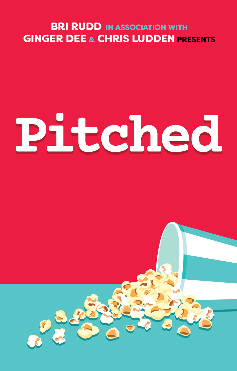 Pitched - by Bri Rudd, Ginger Dee, and Chris LuddenOver 100 pages of movie ideas TOO AWESOME for Hollywood. ...because they're jokes. In this book you'll find comics, prose, scripts, and even reviews of the best movies that we'd never seriously want see to get made. Unless you've got big studio money to throw around. We're overflowing with artistic integrity but we've also got mortgages. We accept wire transfers, most major credit cards, and personal checks.2017, 124 pgs