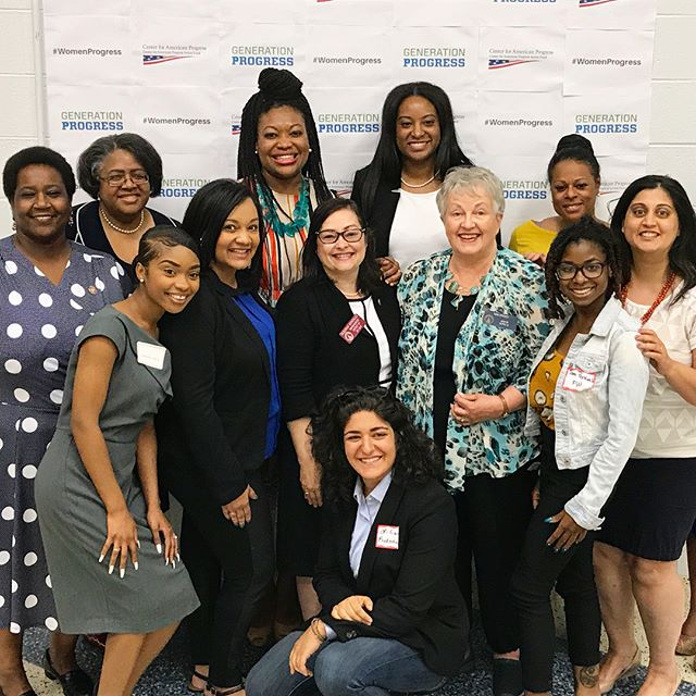 I was honored to join a group of incredible female changemakers yesterday for #WomensProgress: People, Power, and Policy.  I was fortunate enough to share my experience running for office. I focused on the importance of utilizing branding, advertising and communication to build a coalition and how I used those tools to develop my grassroots campaign. The future is female, and I am proud to be a part of it. . . . . #womenprogress #atlanta #policy #progress #power #people #runforsomething #thefutureisfemale