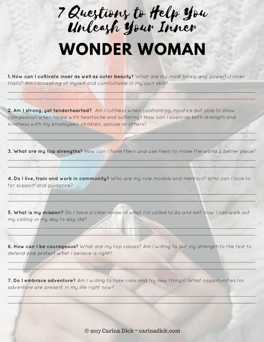 wonderwomanworksheet