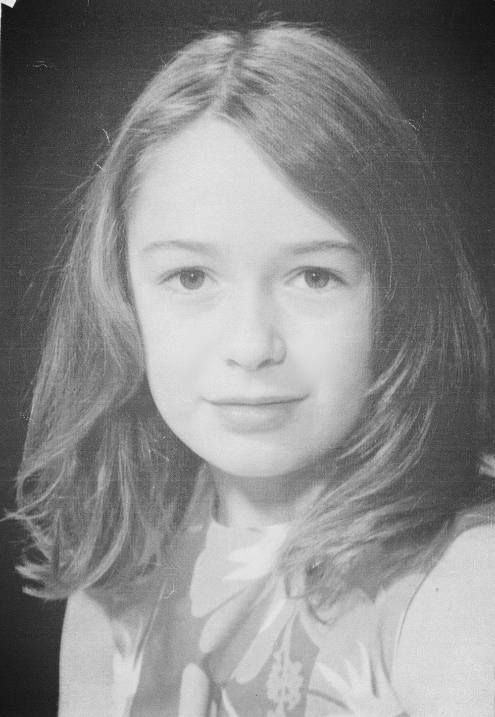Class photo, age 10.