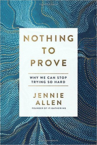 Nothing to Prove - The visionary behind the million-strong IF:Gathering challenges Christian women to discover what it means to do life with God rather than always striving to impress him. All too many of us struggle under the weight of life, convinced we need to work harder to prove to ourselves, to others, and to God that we are good enough, smart enough, and spiritual enough to do the things we believe we should.Author and Bible teacher Jennie Allen invites us into a different experience, one in which our souls overflow with contentment and joy.