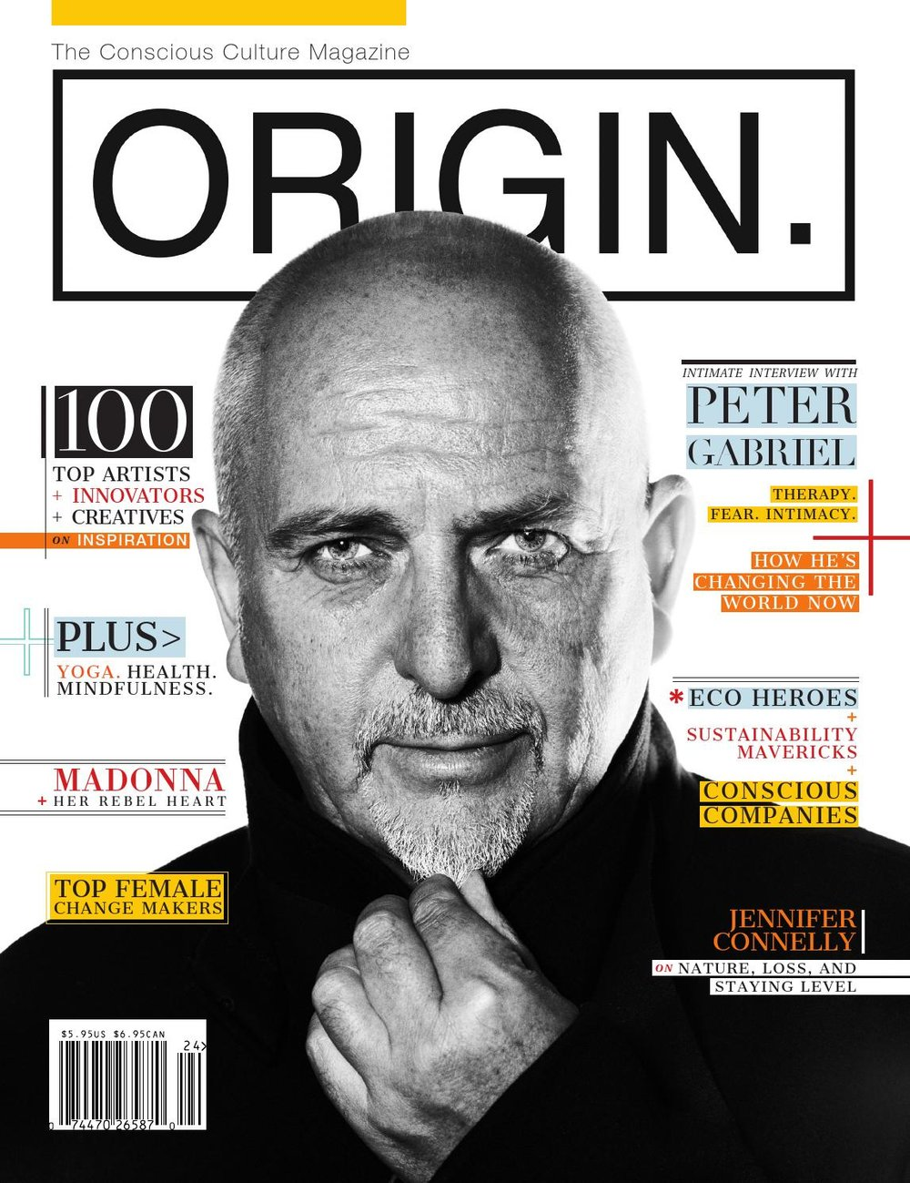 Origin Magazine Cover