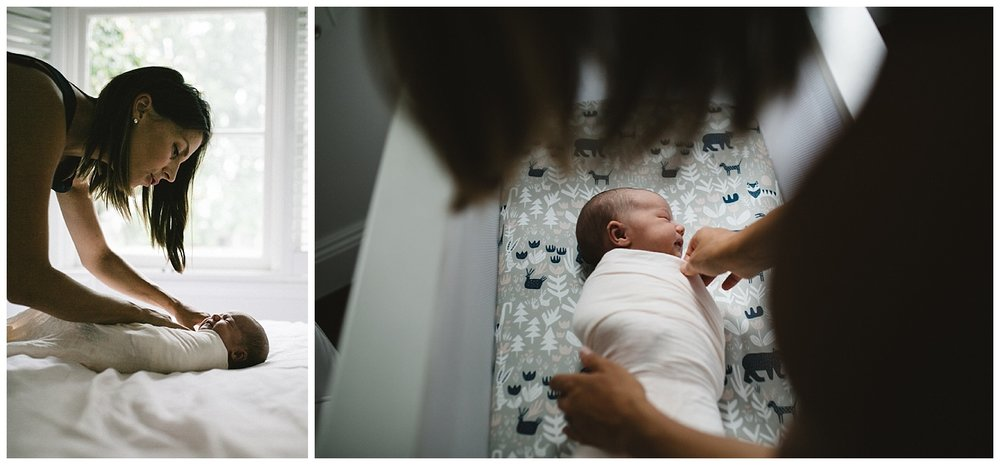 family bloggers and lifestyle newborn sessions at home in elwood