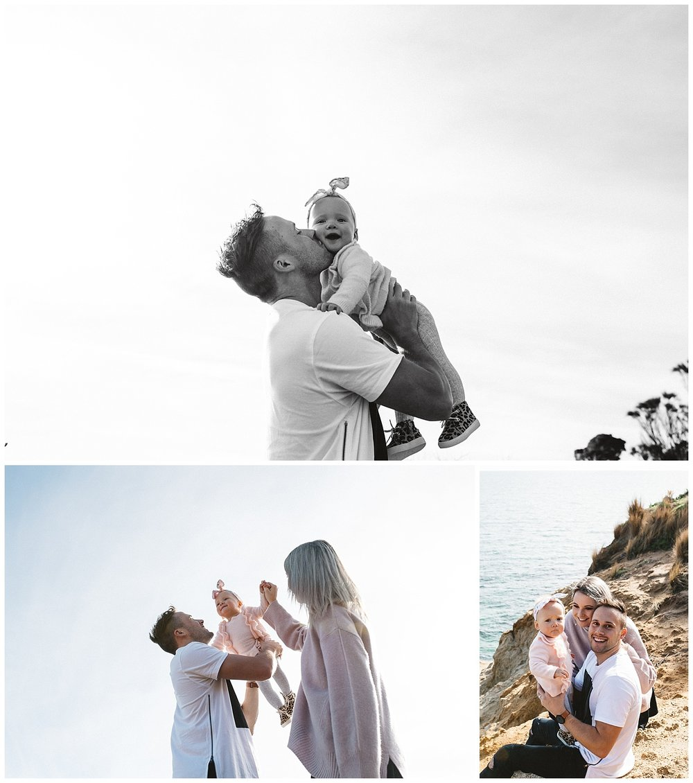The beach is a great location to spend the days with your family beach maternity photography and family beach photography