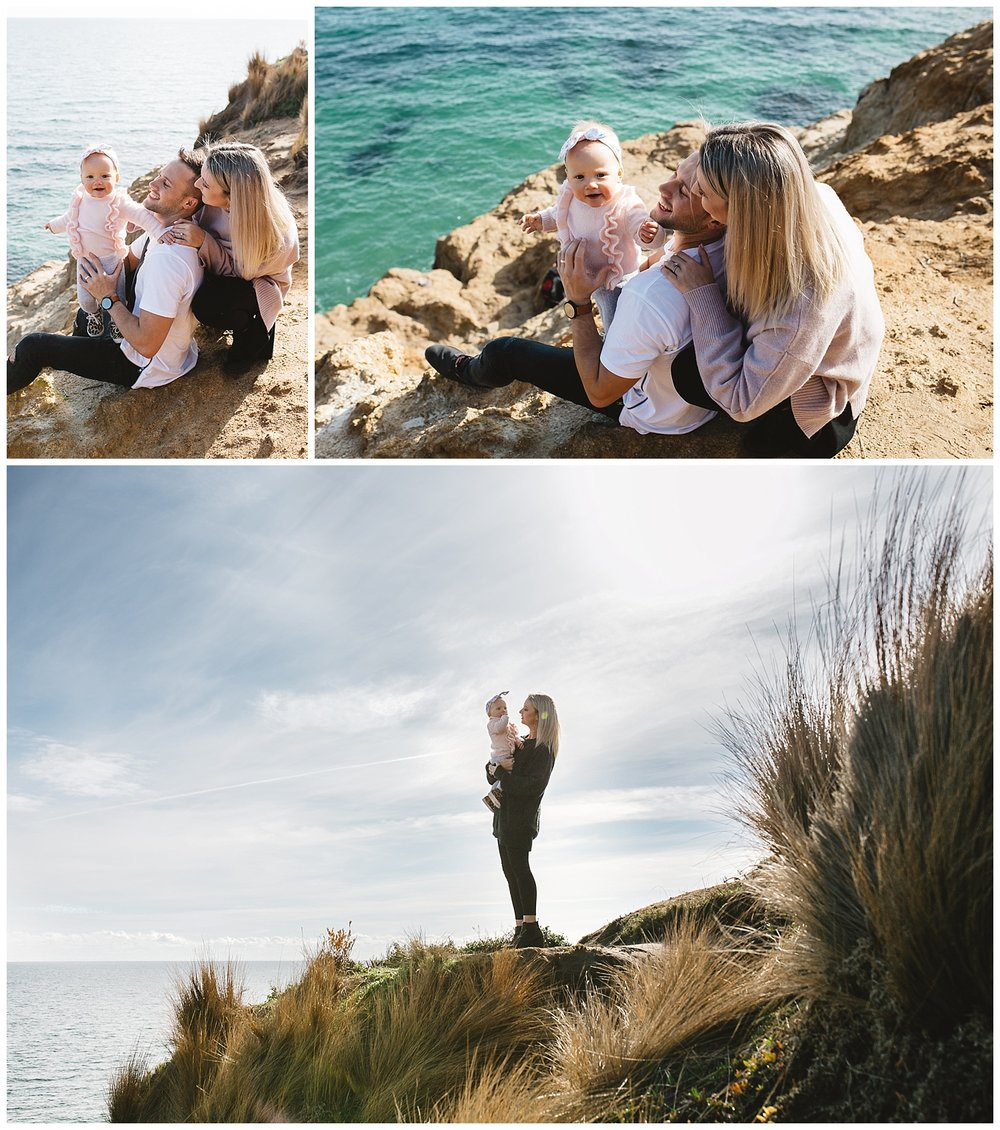 children and family photographer exploring the mornington coast with your family