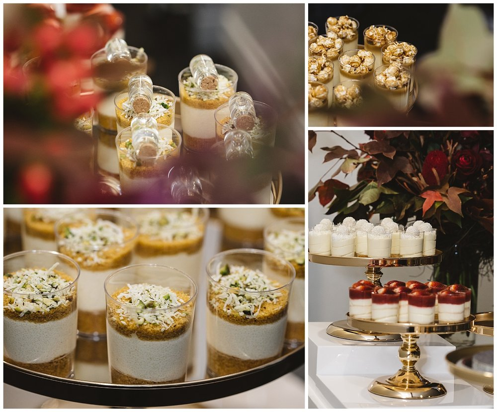 a dessert bar in your mornington peninsula wedding would be a great way to decorate your venue