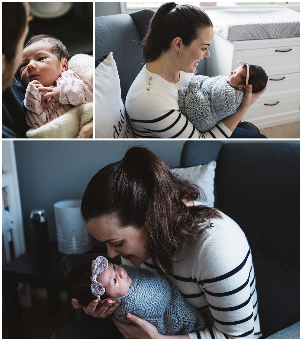Dromana lifestyle newborn photos